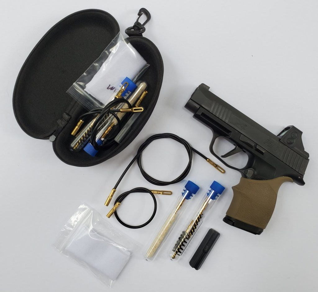 Guns and accessories